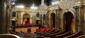 parlement-catalogne-vide