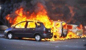 feu de voiture
