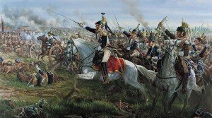 charge de cuirassiers