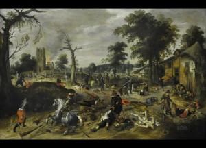 guerre de tente ans de-plundering-van-wommelgem-un-tableau-de-sebastiaan-vrancx-qui-illustre-les-massacres-de-la-guerre-de-trente-ans-dusseldorf-museum-kunstpalast-1550343663