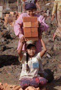 enfants aux travails