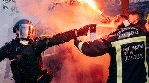 pompier policier